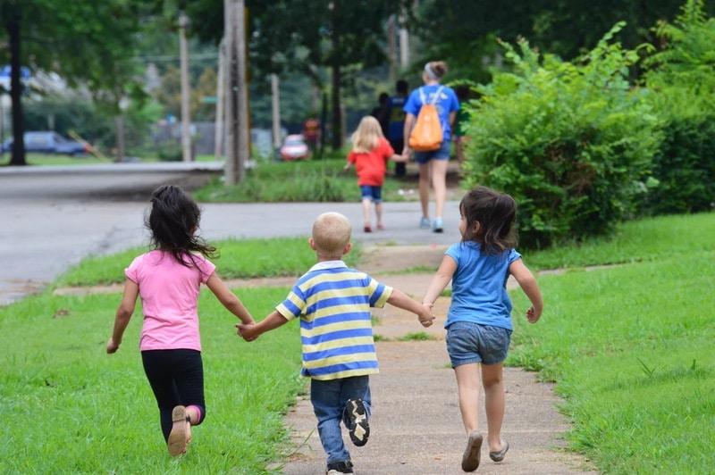 exercise-children-learning