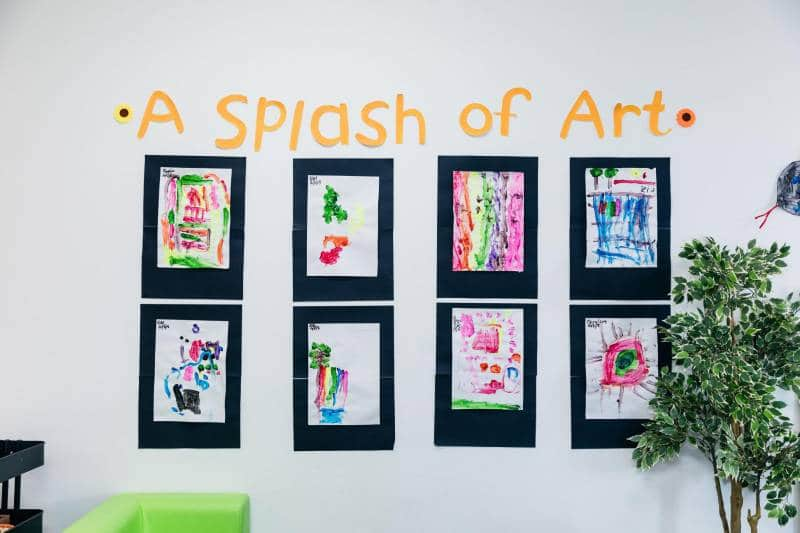 Children's art matters as displays like A Splash of Art at Forest Hill creates a sense of belonging.