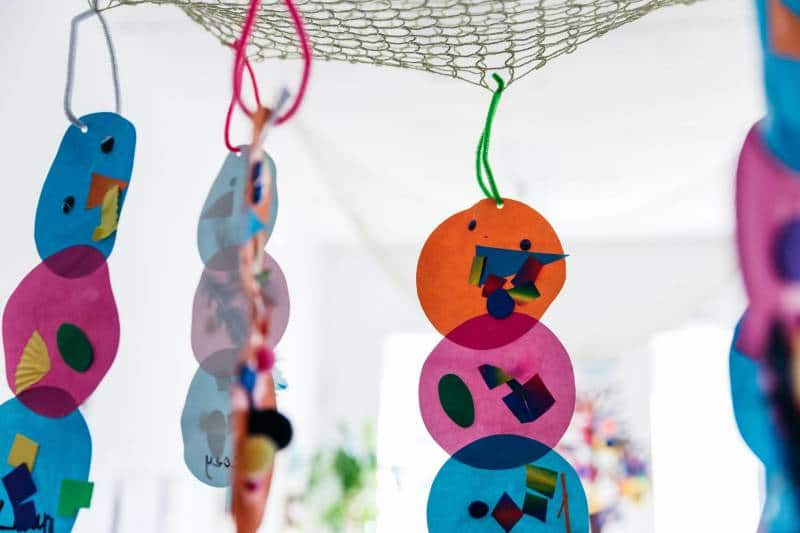 Mobile art at Petit Richmond helps children 'be' that's why art matters.