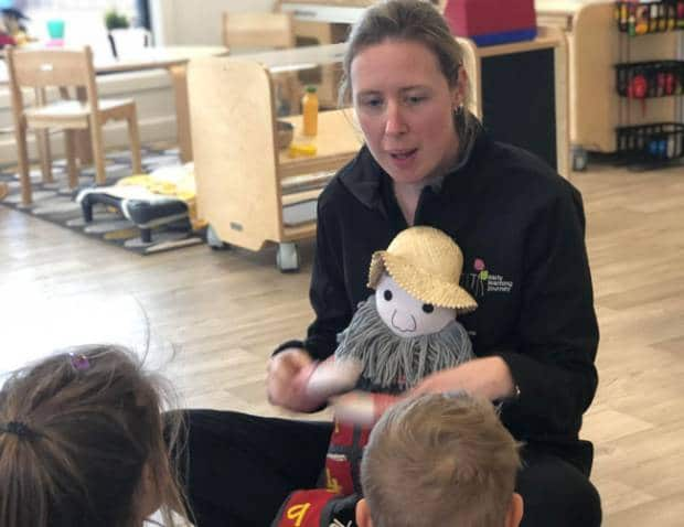 Early Childhood Teacher, Sarah uses a class mascot to inspire children to learn maths