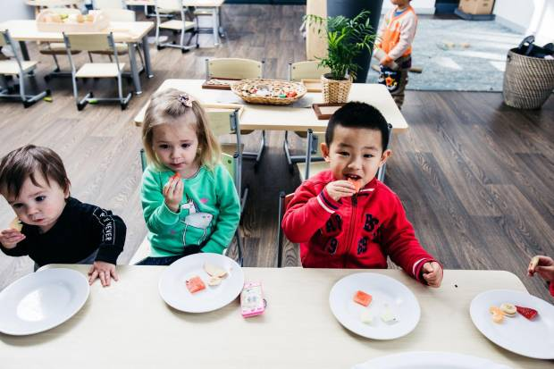 Petit Early Learning Journey centres serve healthy meals for children