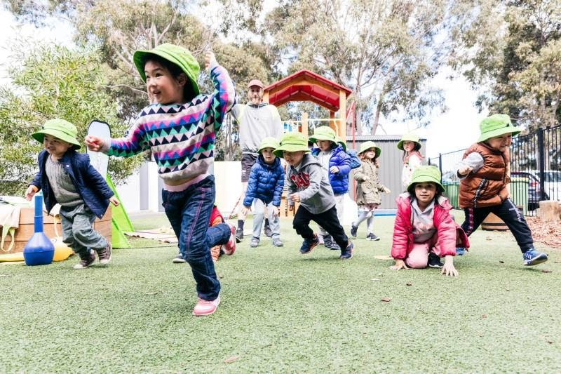 Petit ELJ Forest Hill children enjoy outdoor play and physical fitness incursions that inspire a child's mindfulness.