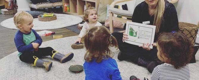 Literacy activities for children.